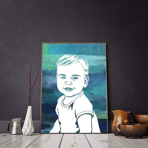 картина на дете