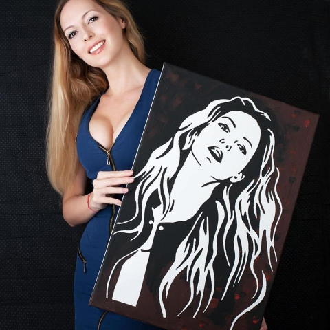 портрет за жена