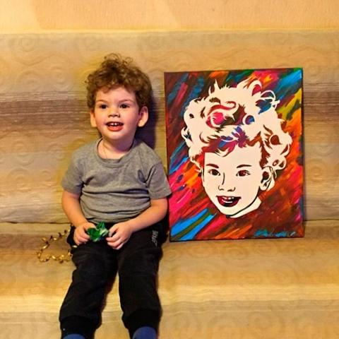 портрет на дете